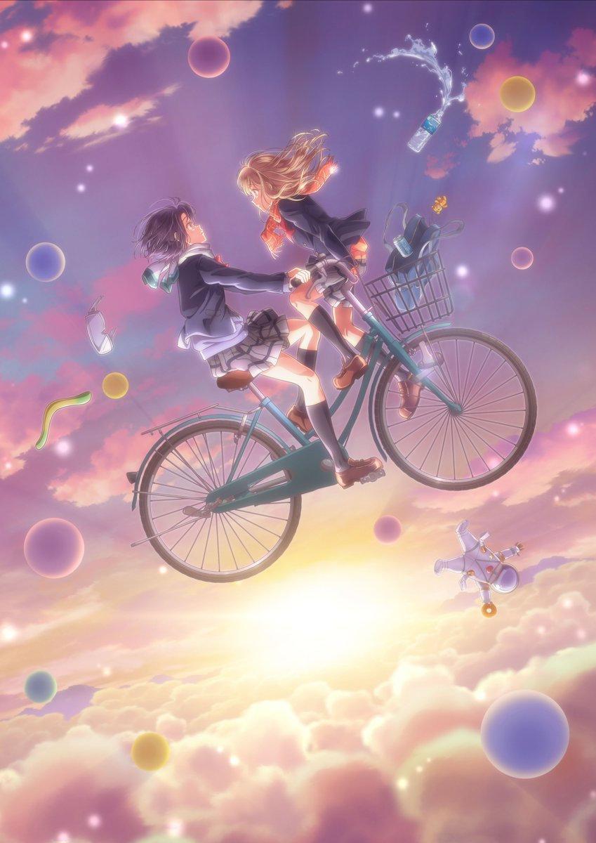 轻小说改编动画《安达与岛村》第三弹PV发布,将于国庆节开播