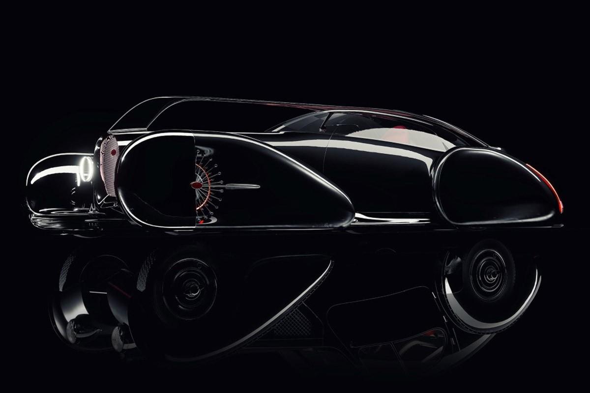 布加迪Next-57跑车被想象为当代概念车