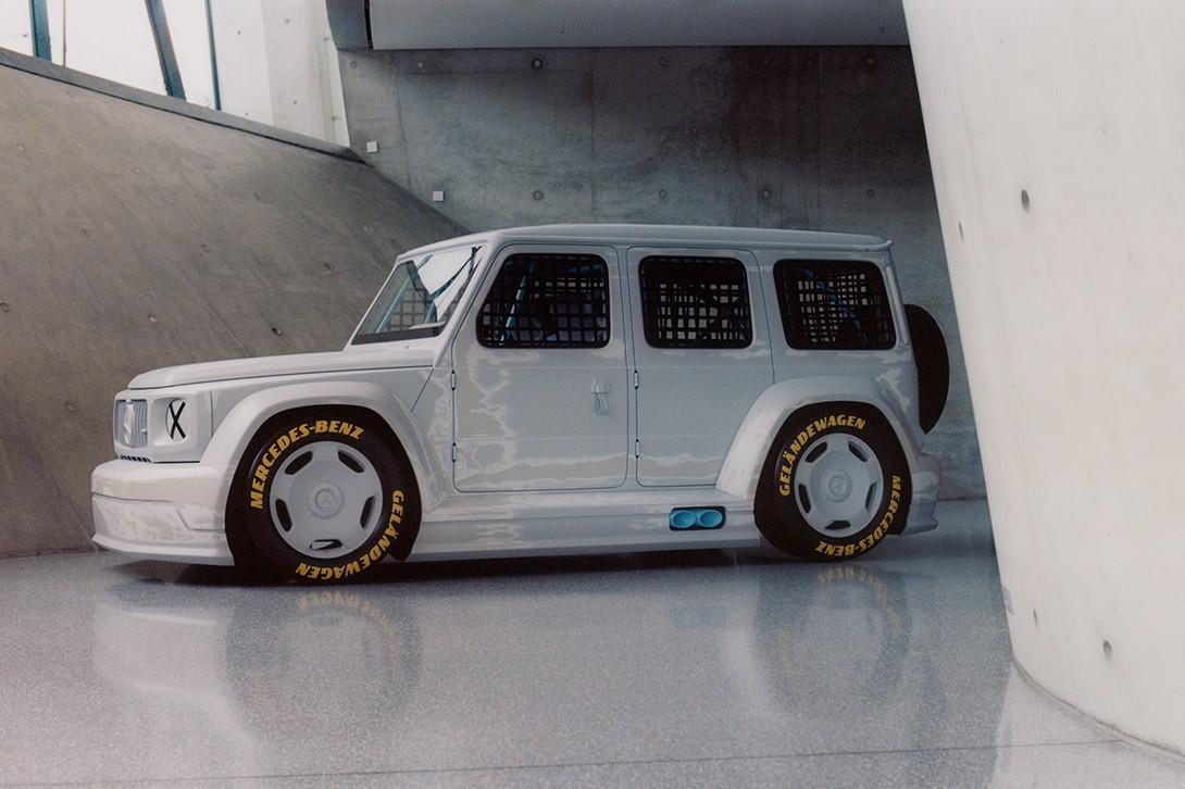 维吉尔·阿布洛(Virgil Abloh)和梅赛德斯-奔驰合作为奔驰G级设计了新的模型