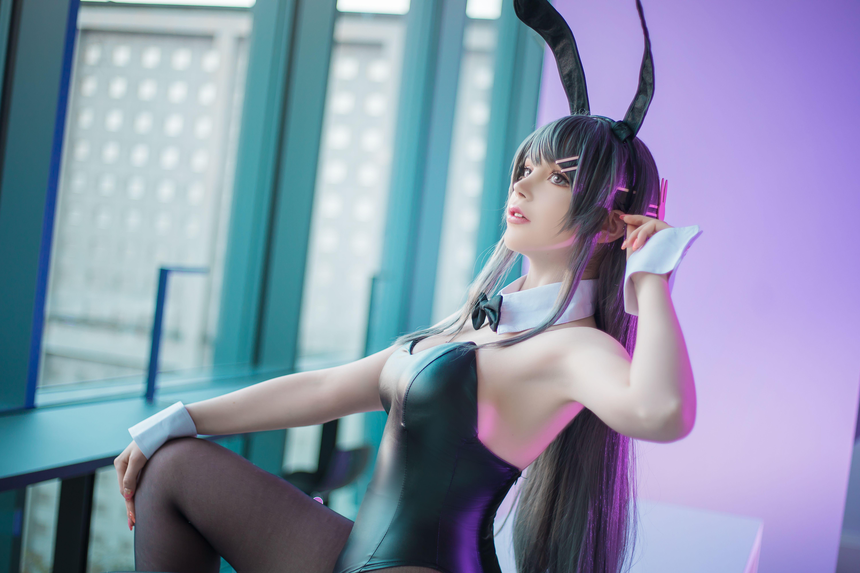 SayaTheFox樱岛麻衣兔女郎写真,异域风情体验