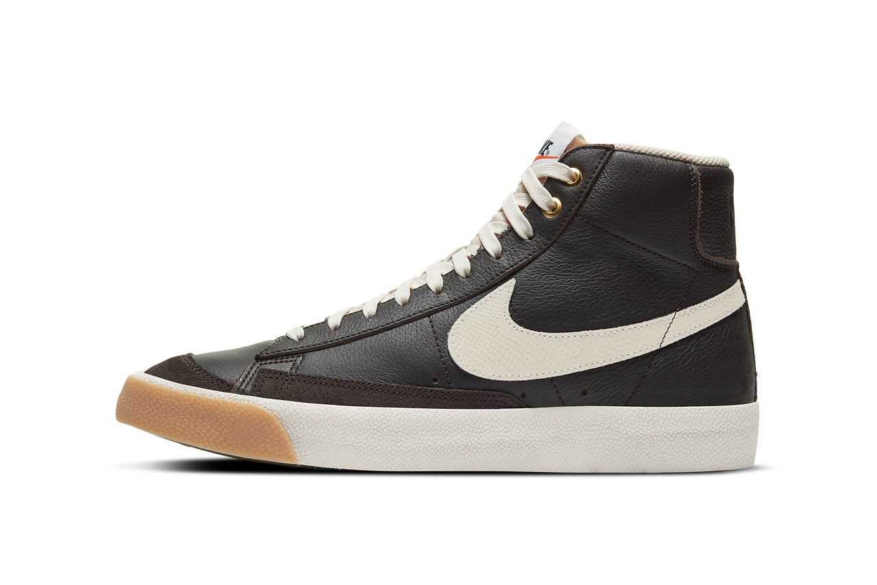 Nike Blazer Mid '77 Orewood Brown配色发布