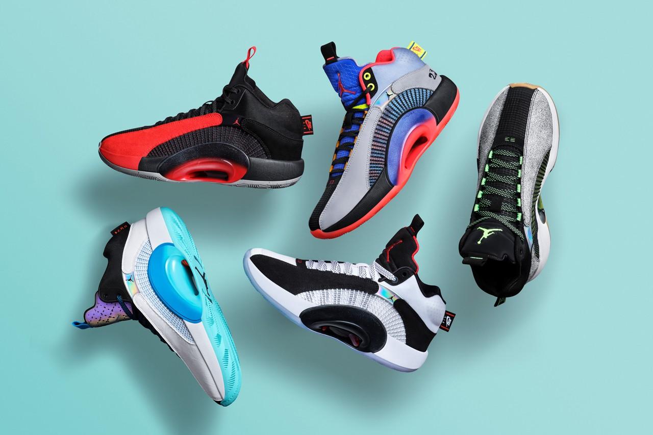 乔丹品牌正式发布Air Jordan 35
