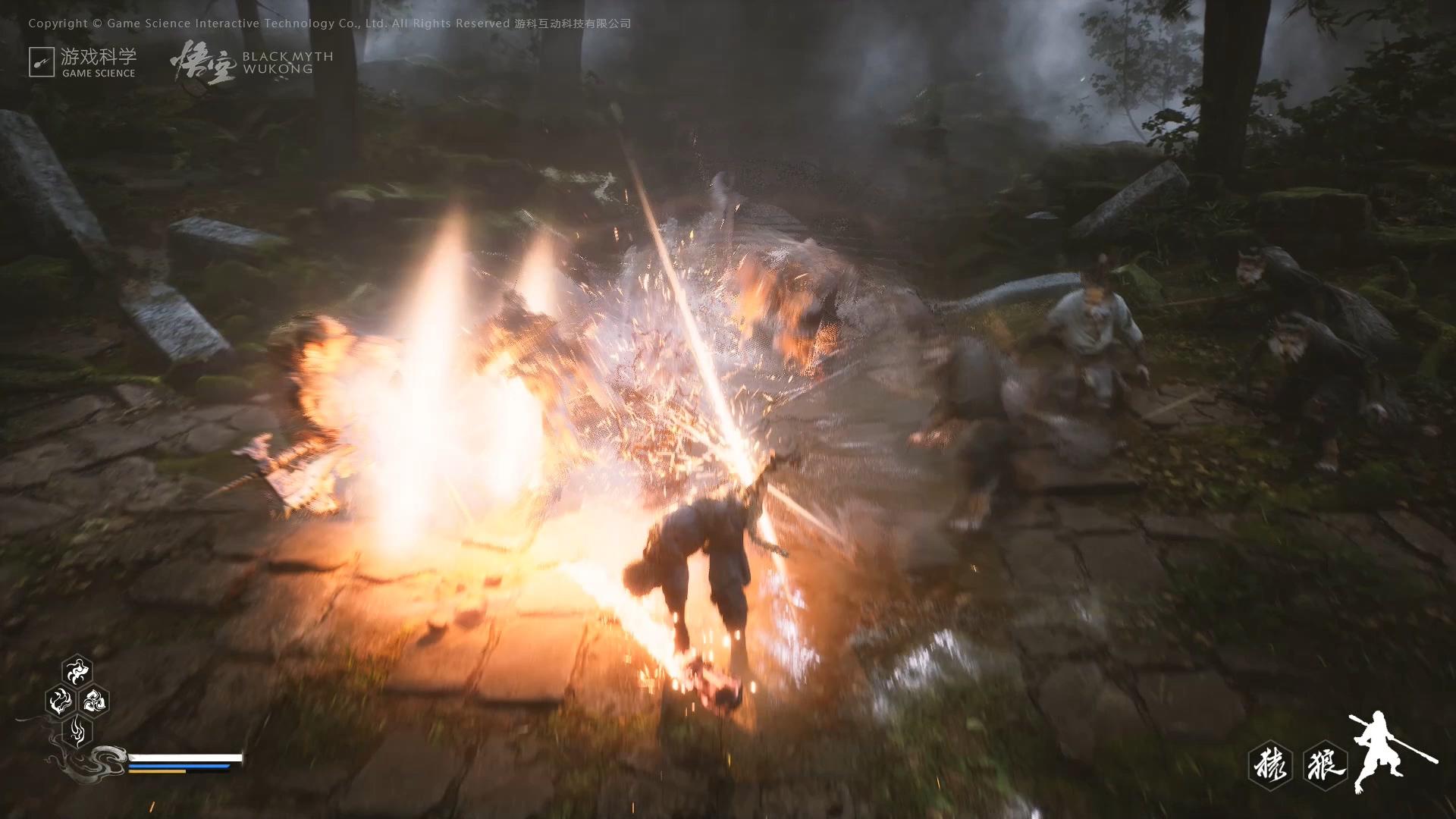 3A大作《黑神话:悟空》发布游戏演示视频,国产游戏之光即将到来