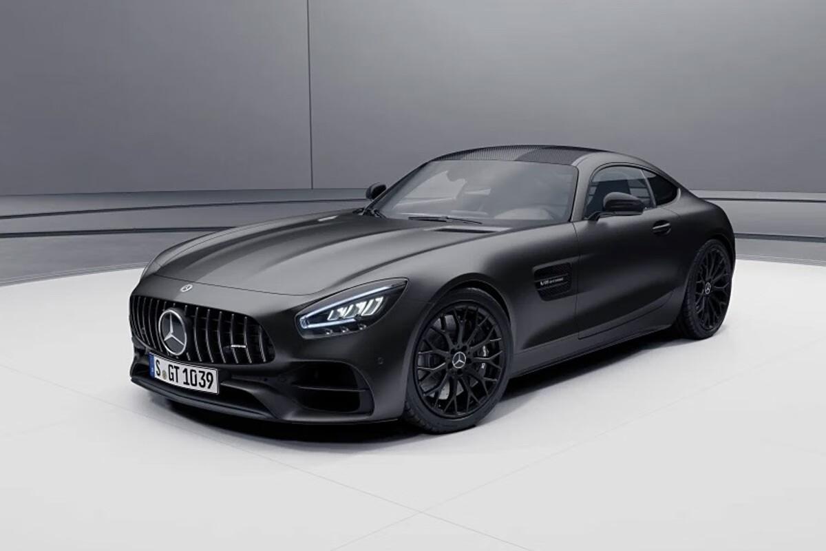 梅赛德斯奔驰推出AMG GT Stealth Edition车型