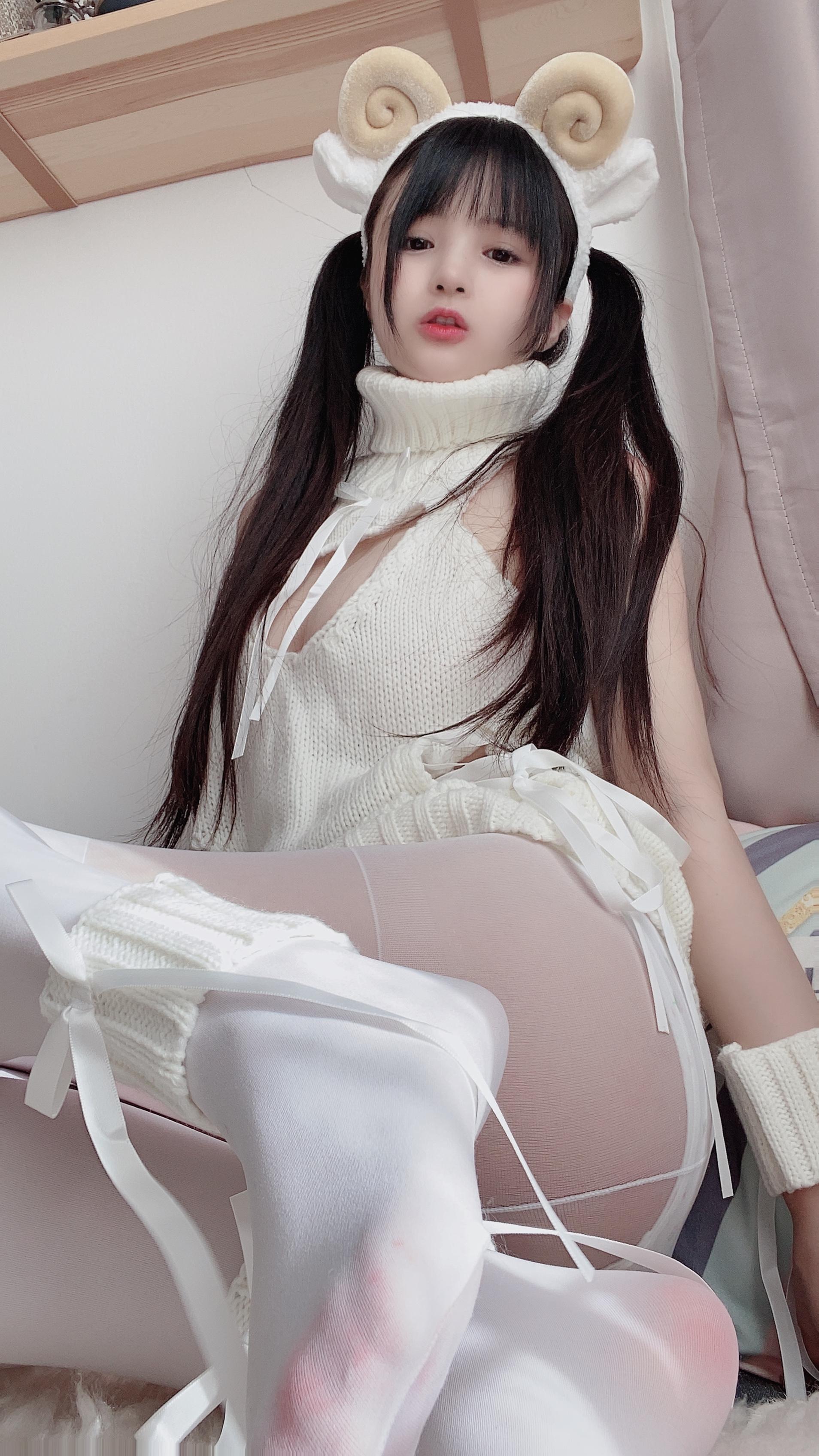 桜井宁宁绵羊少女写真,可爱到爆