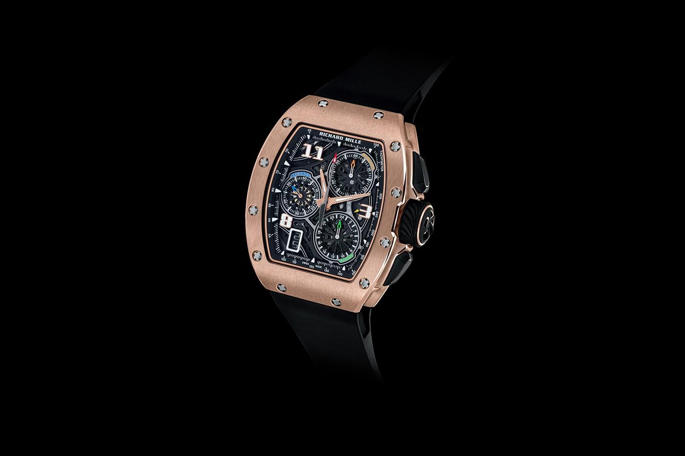 理查德米勒(Richard Mille)宣布推出RM 72-01飞返计时手表