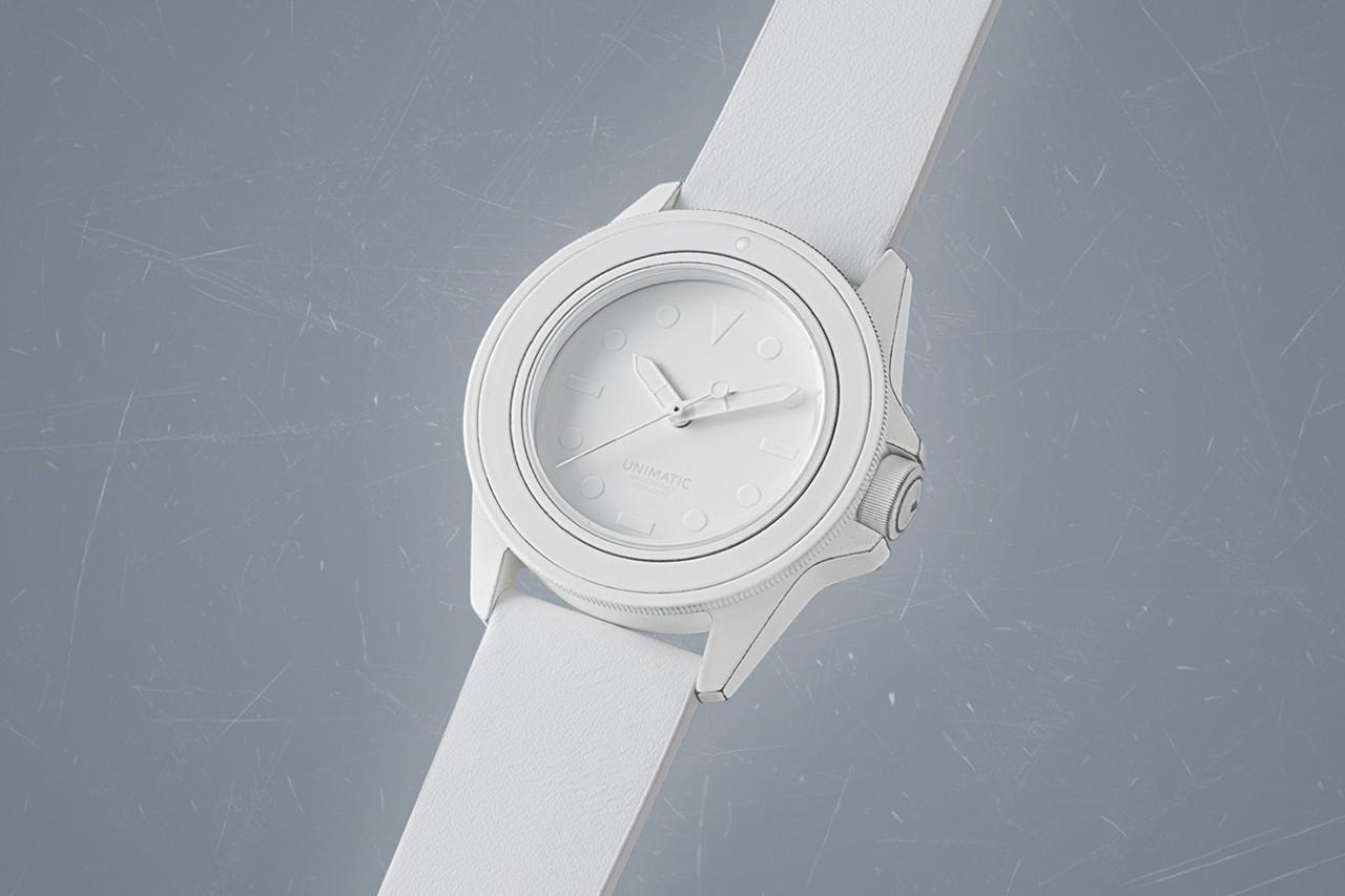 Unimatic和Mihara Yasuhiro创建了终极极简主义手表Modello Uno U1-MY2