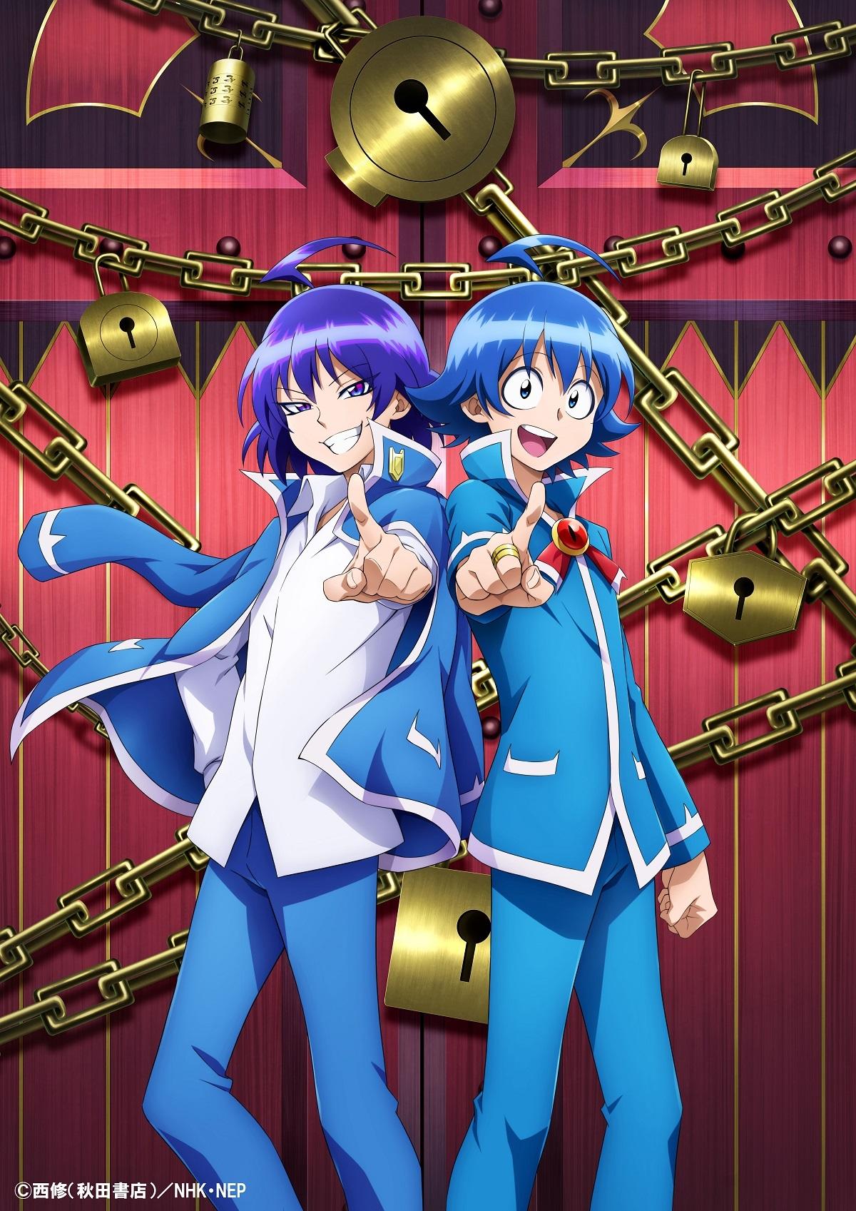 漫改动画《入间同学入魔了!》公开第二季宣传海报,将于明年播出