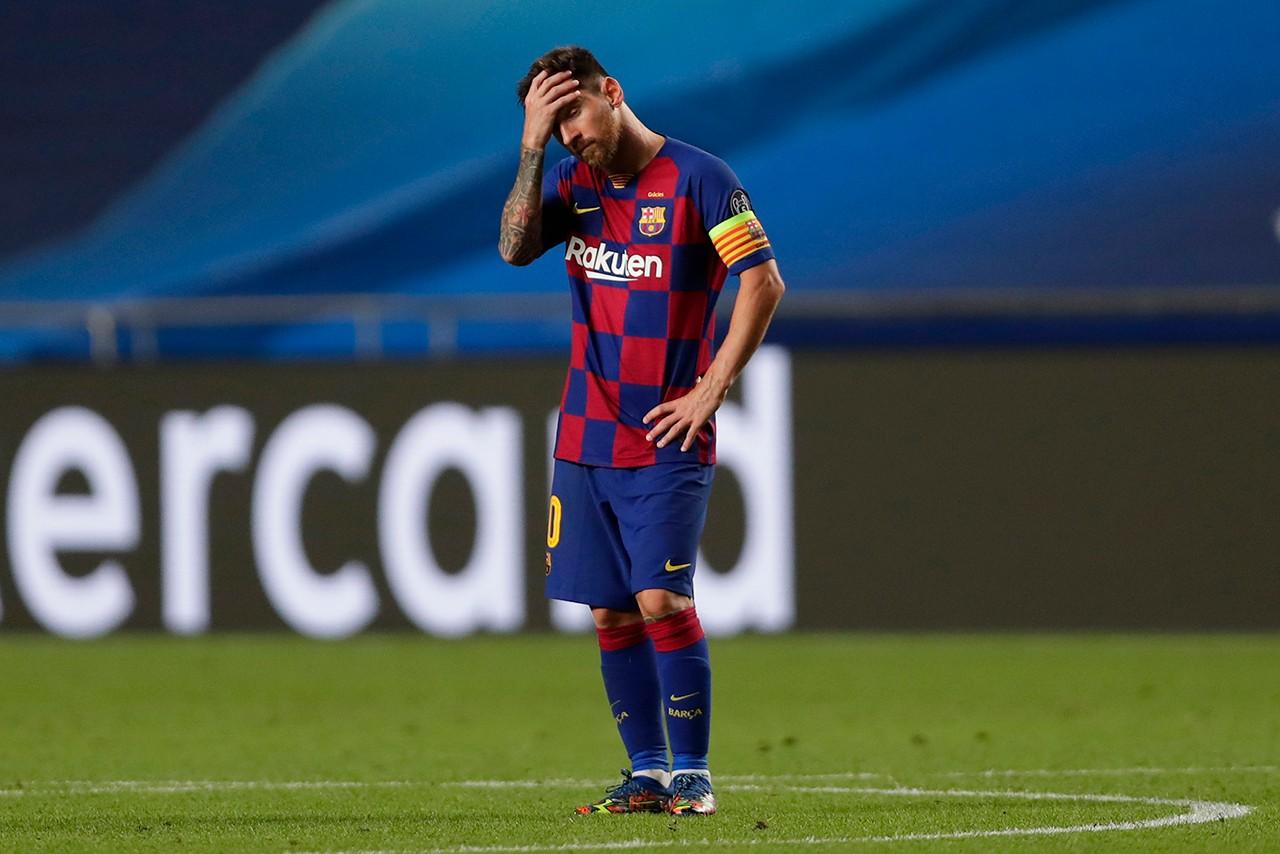 据说莱昂内尔·梅西(Lionel Messi)离开巴塞罗那