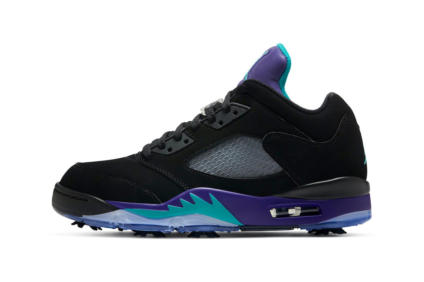 """Air Jordan 5 Low"""" Black Grape""""黑紫配色来袭"""