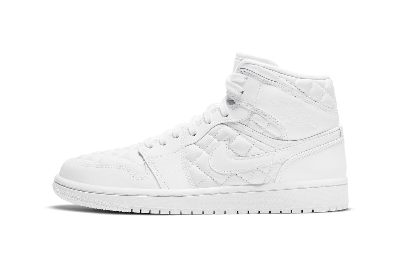 Air Jordan 1 Mid Quilted从豪华手袋中汲取灵感