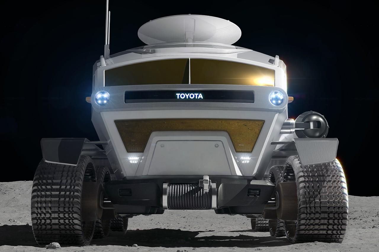丰田发布四座月球探索车Luna Cruiser