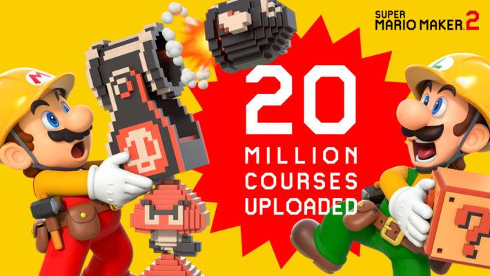 任天堂发海报庆祝《超级马里奥制造2》玩家制作关卡超2000万