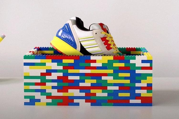 adidas Originals即将发售LEGO x ZX 8000 Collab