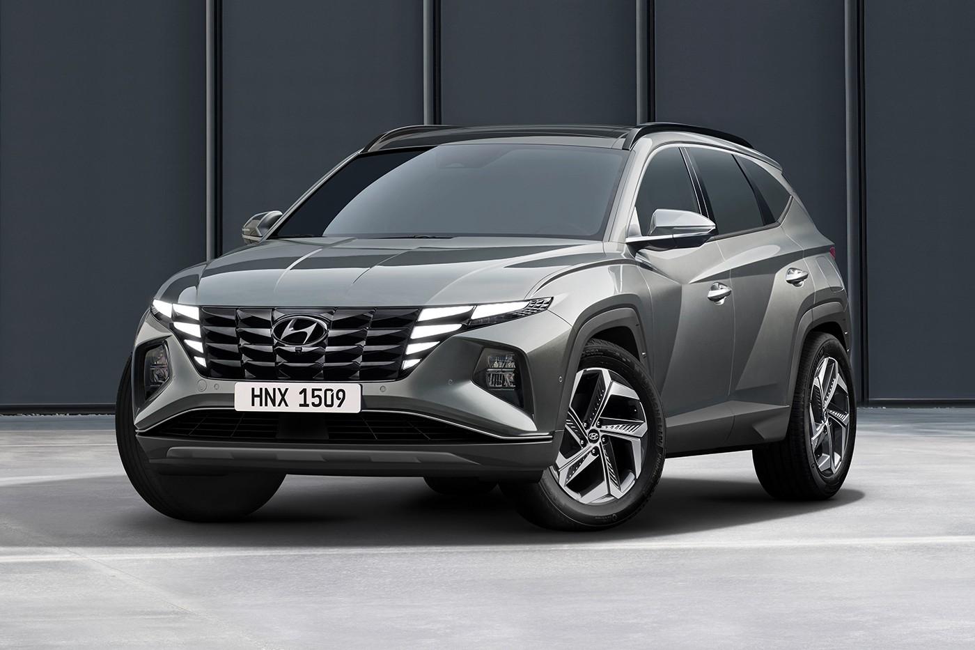 现代汽车发布令人惊叹的2022年图森SUV