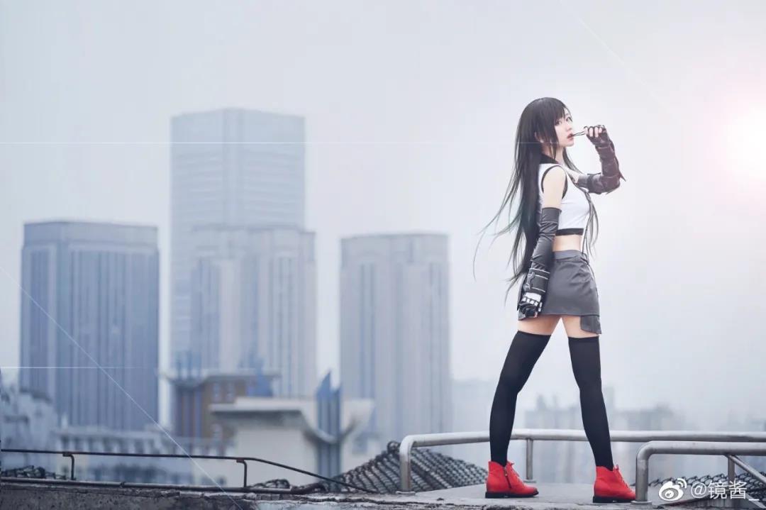 镜酱_蒂法COS写真,格斗女神上线