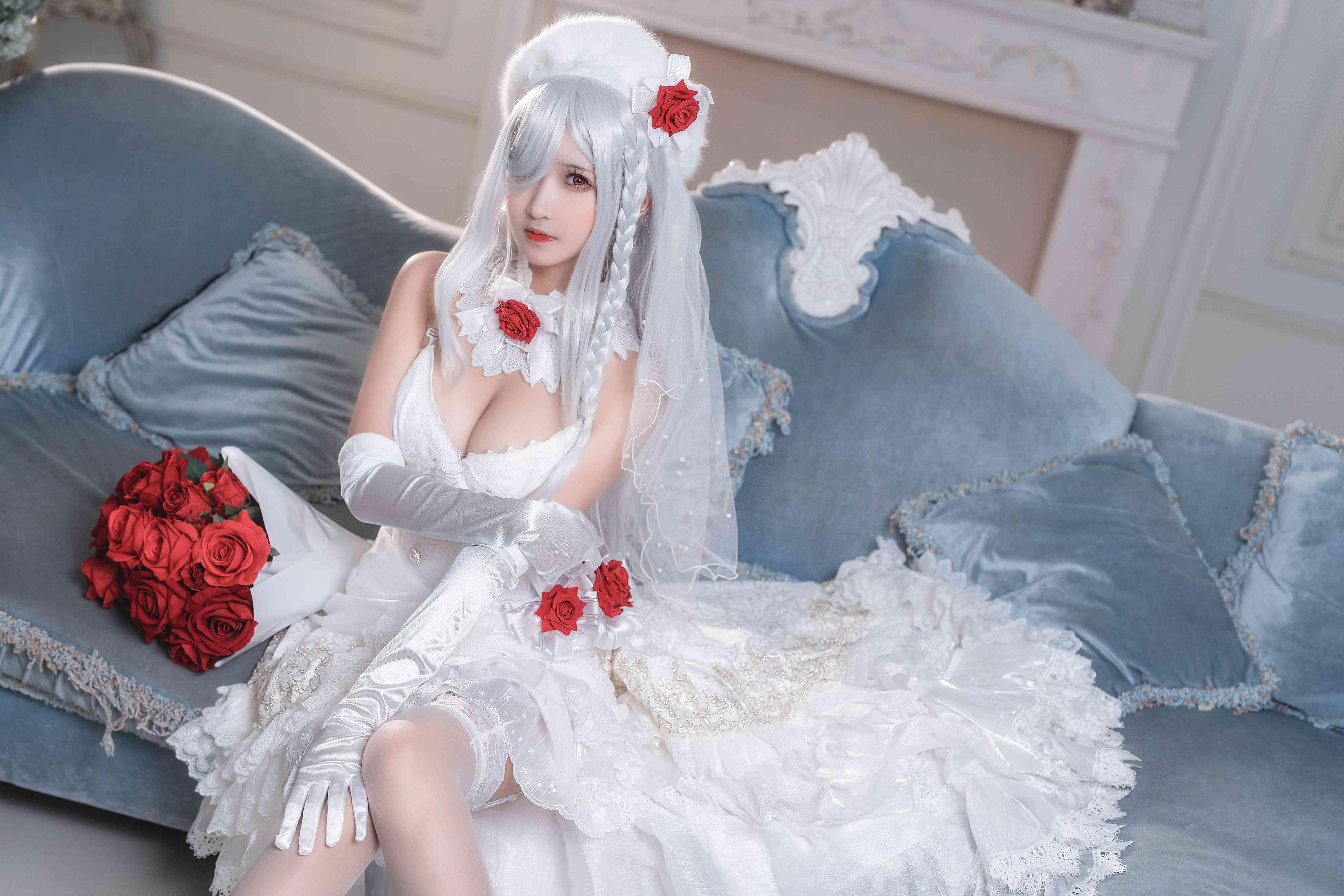 三度_69花嫁写真,你的LO娘来了