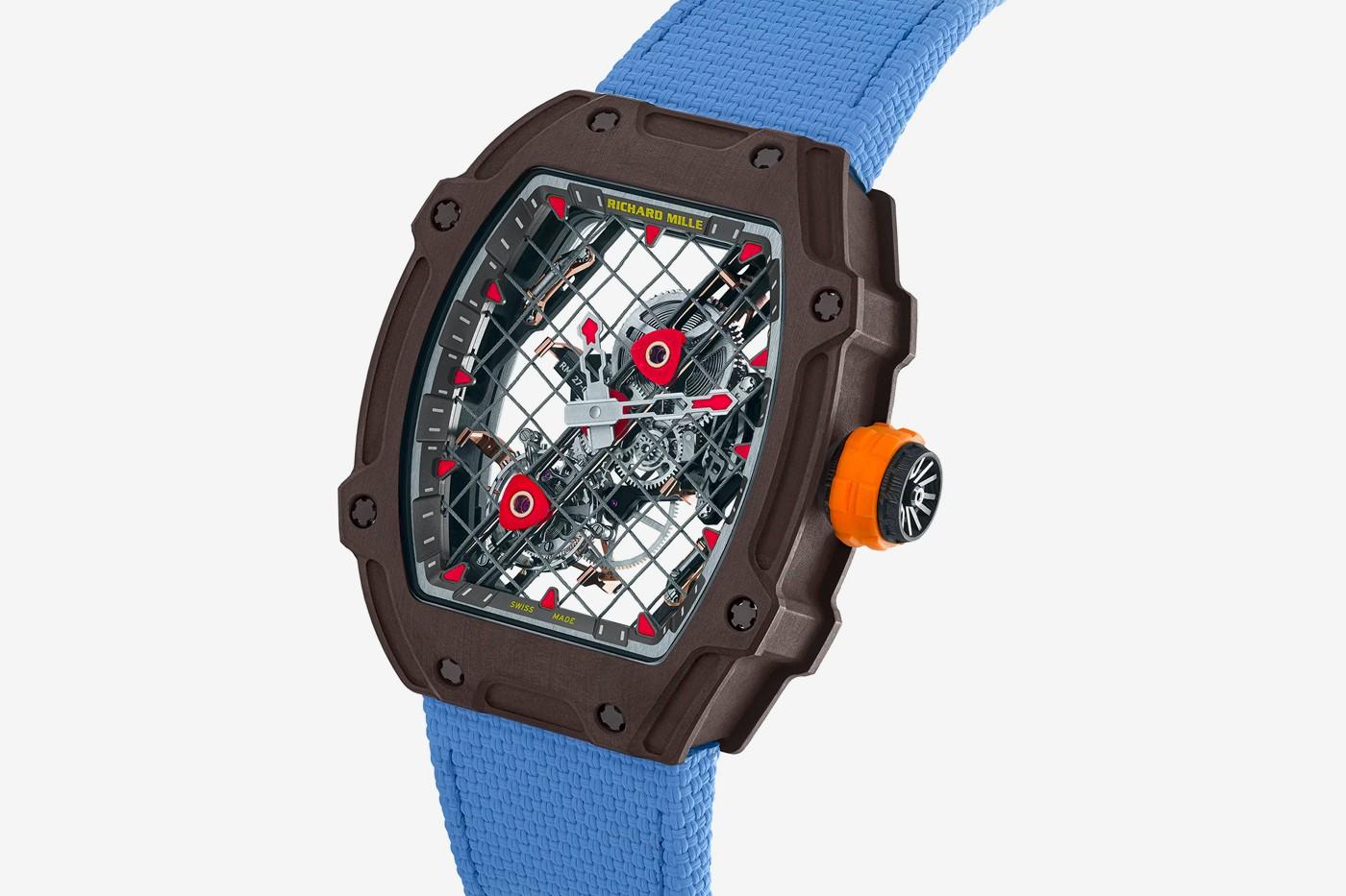 理查德米勒和纳达尔推出联名网球款RM 27-04陀飞轮手表