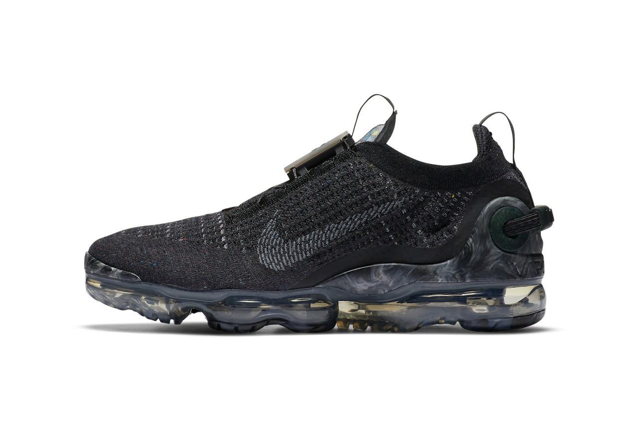 Nike VaporMax 2020全新「Black / Dark Grey」配色版即将开售