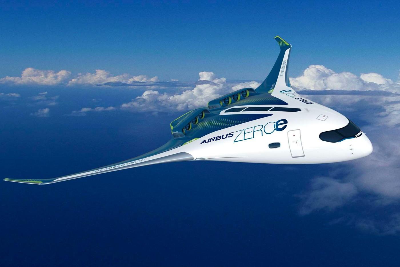 空客公司提出使用氢燃料零排放客机