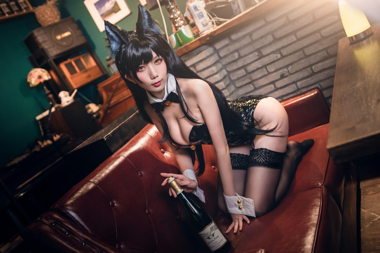 迷失人形QUQ陪酒女郎写真,酒吧微醺时刻