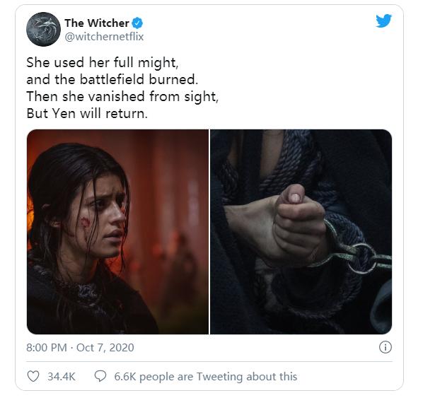 《巫师》预告片公布第二季主要角色