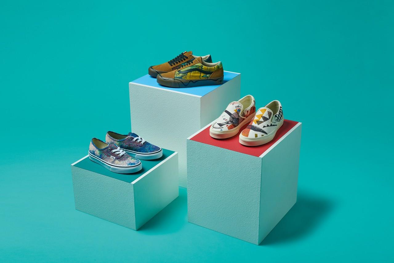 Vans精心设计的鞋类和服装系列庆祝MoMA系列