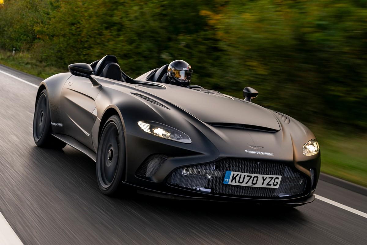 阿斯顿马丁推出敞篷版700马力V12 Speedster概念车V88 Speedster