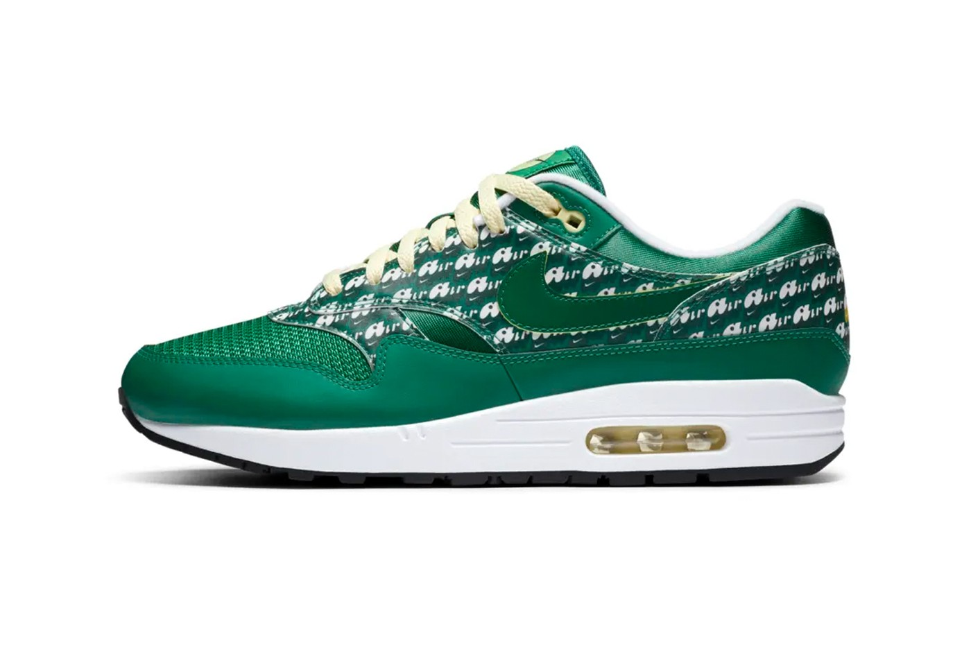 Nike Air Max 1 Powerwall Limeade实拍图