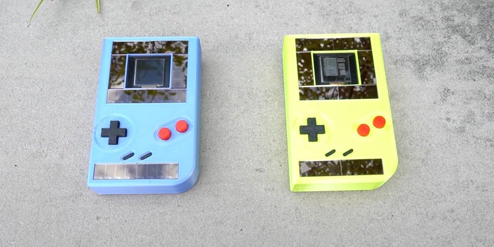 这款无电池Game Boy依靠太阳能运行