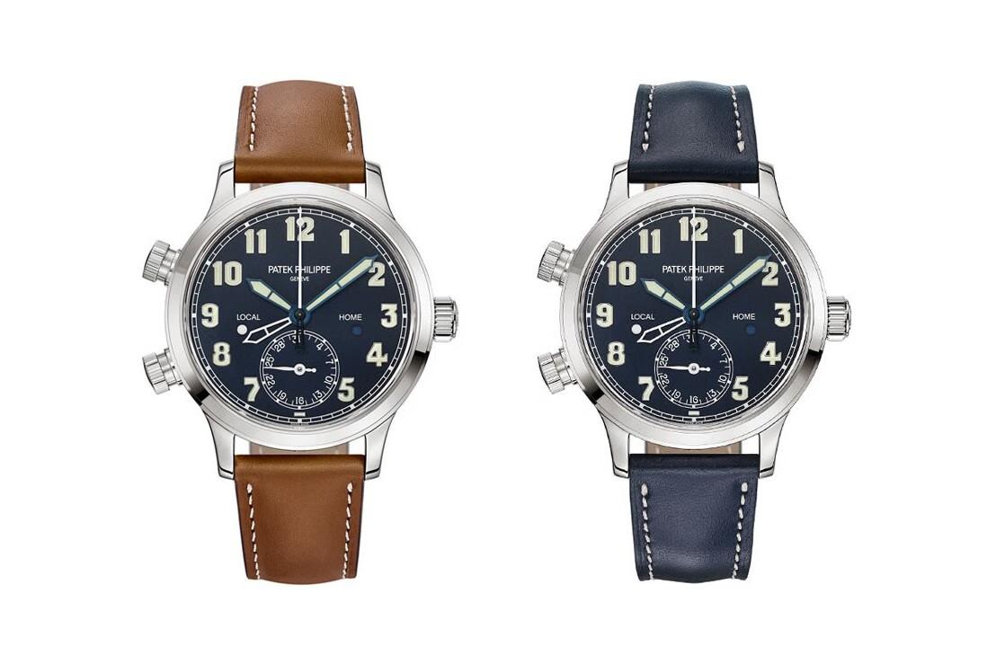 百达翡丽发布Calatrava飞行员旅行时间系列腕表